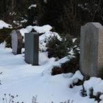 Gräber auf dem Friedhof Friedrichshain