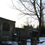 Gräberwand Friedhof Friedrichshain