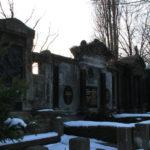 Gräberweg Friedhof Friedrichshain