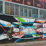 Graffiti RAW Gelände