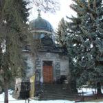 Kuppeldach Gebäude Friedhof Friedrichshain