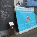 Spreeufer Protestplakat