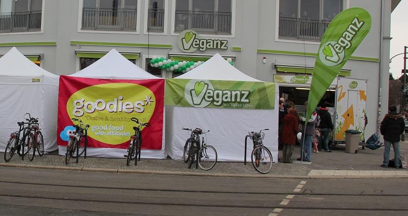 Veganz Friedrichshain Eröffnung