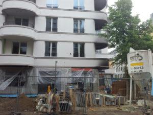 Baustelle Rigaer Str