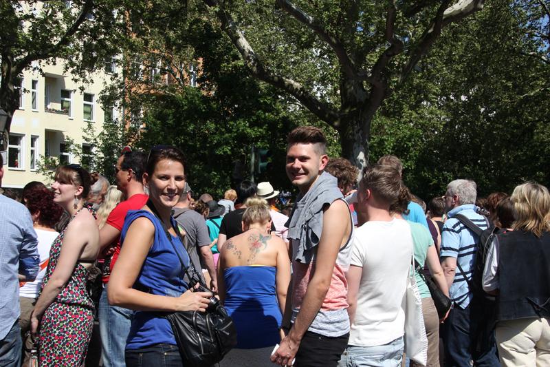 Besucher des Karneval der Kulturen 2013