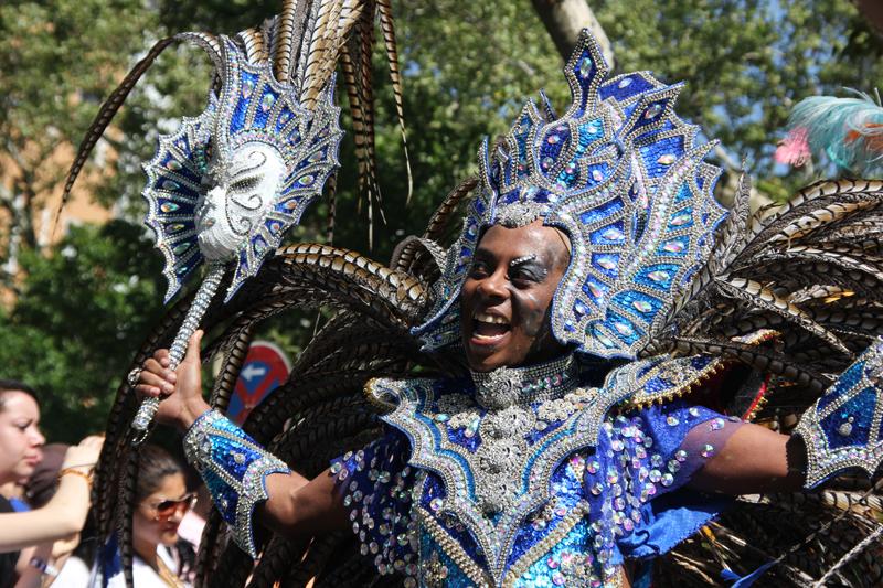 Bunter Tänzer Karneval der Kulturen 2013