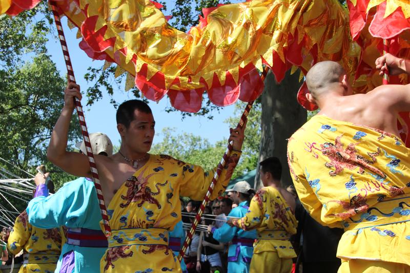 Drachentanz Karneval der Kulturen 2013