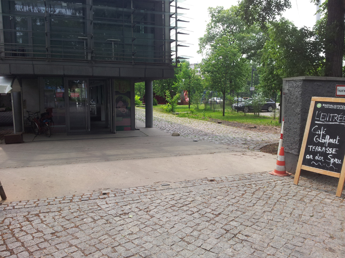 Eingang Radialsystem
