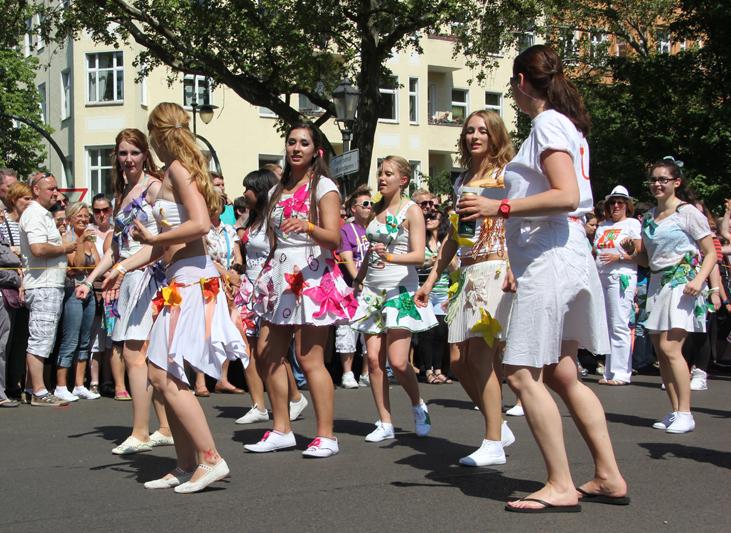 Frauentanzgruppe Karneval der Kulturen 2013