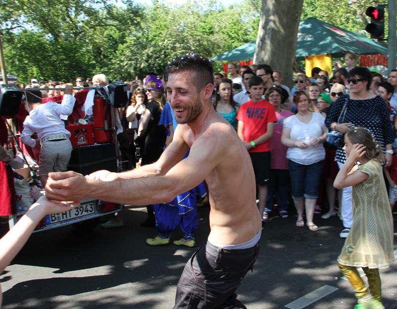 Hare Krischna Karneval der Kulturen 2013