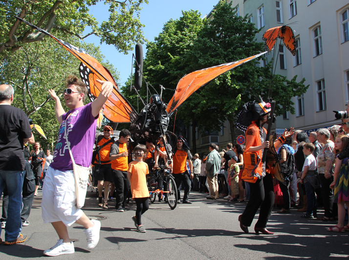 Insekten Karneval der Kulturen 2013