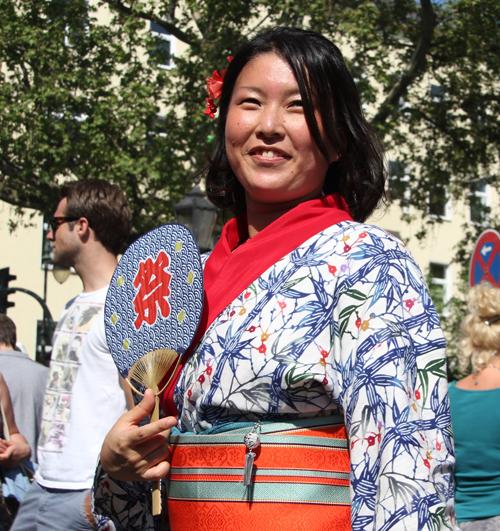 Japanische Tracht Karneval der Kulturen 2013
