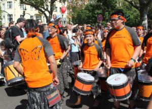 Japanische Trommler Karneval der Kulturen 2013
