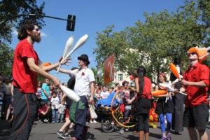 Jongleure Karneval der Kulturen 2013