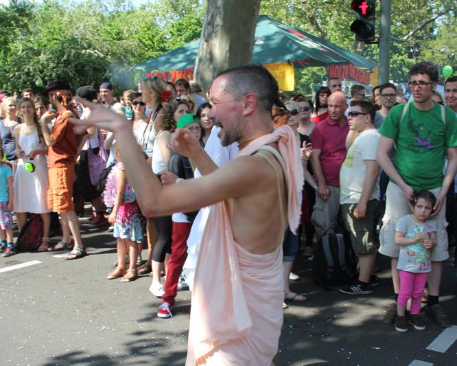 Karneval der Kulturen Hare Krischna