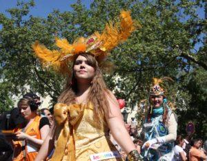 Karneval der Kulturen Tänzerin