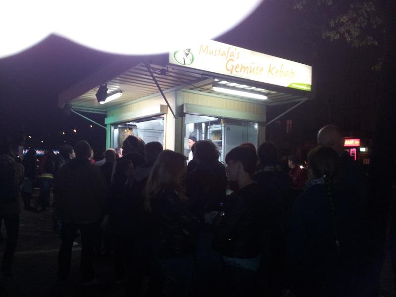 Mustafa's Gemüse Kebab Kreuzberg