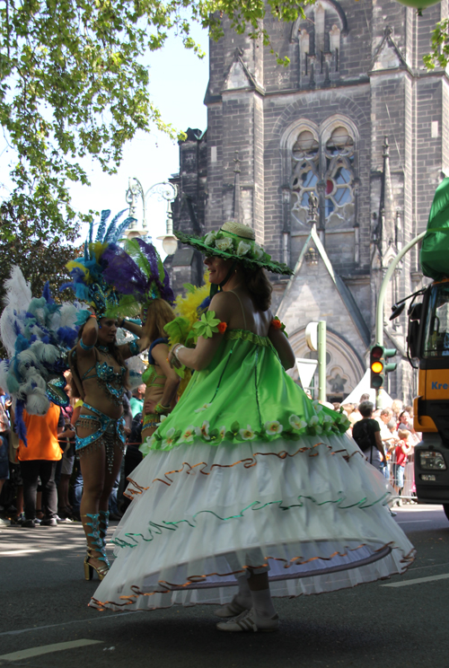 Rock Tänzerin Karneval der Kulturen