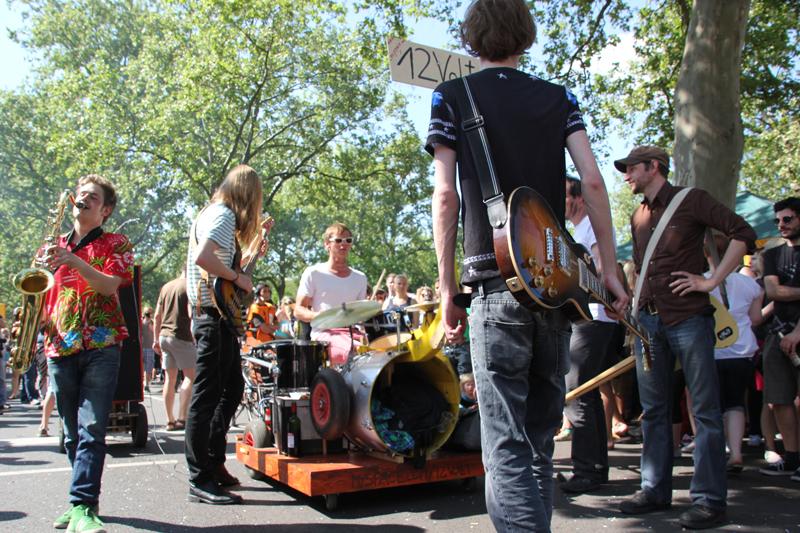 Rockgruppe Karneval der Kulturen 2013