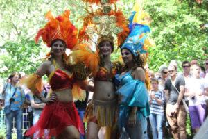 Tanzgruppe Karneval der Kulturen 2013