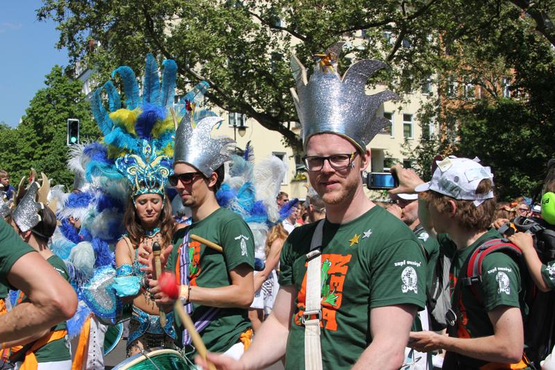 Trommlergruppe Karneval der Kulturen 2013