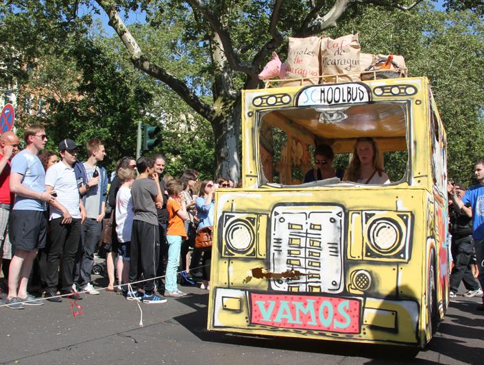 Wagen Karneval der Kulturen 2013
