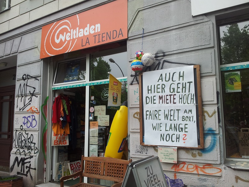 Weltladen la tienda friedrichshain boxi