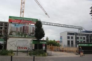 1 Baustelle Pettenkofer- Schreinerstraße