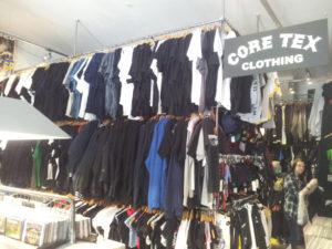 Kleidung im Core Tex