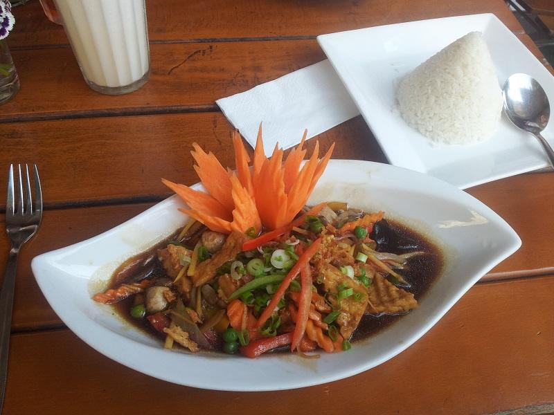 Thai Essen Papaya