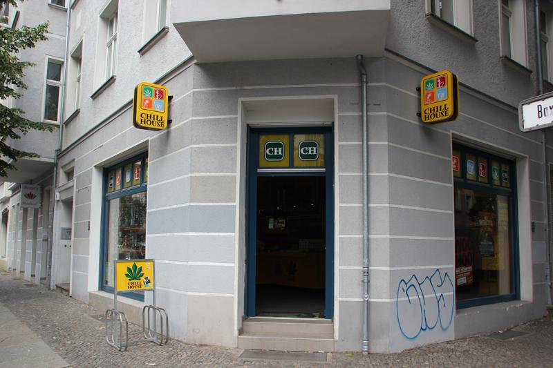 Chillhouse Headshop Friedrichshain