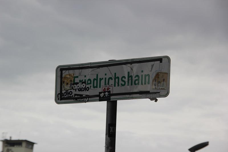 Friedrichshain Schild