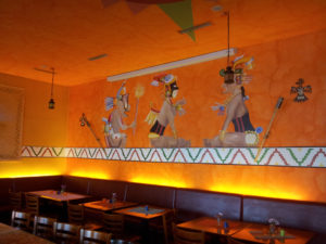 Wandmalerei Rancho Grande Friedrichshain