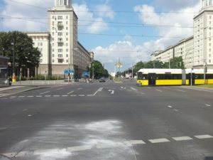 Kreuzung Frankfurter Tor