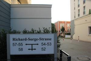 Richards Garten Eingang Friedrichshain