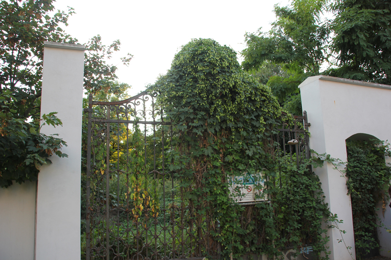 Richards Garten Friedrichshain Friedhofstor