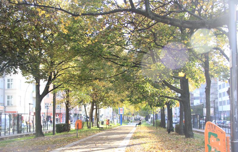 Warschauer Straße Mittelweg Friedrichshain