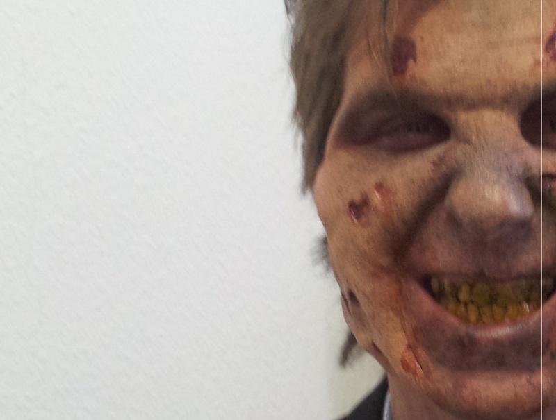 Zombie Gesicht