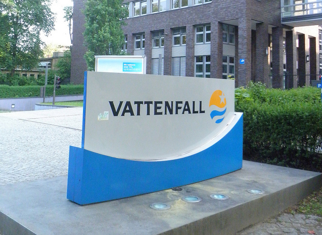 vattenfall energieversorger