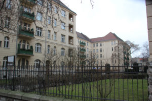 Denkmalgeschützte Anlage Helenenhof Friedrichshain