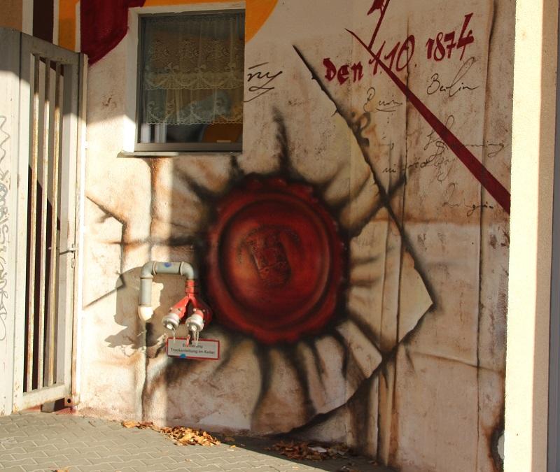 Siegel Malerei Standesamt Friedrichshain-Kreuzberg