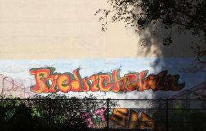 Friedrichshain graffiti