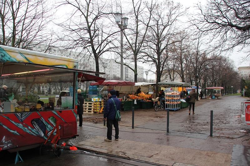 Lebensmittelmarkt Koppenstraße Berlin Friedrichshain