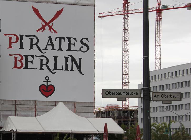 Pirates Berlin Oberbaum