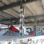 Ruine mit Streetart