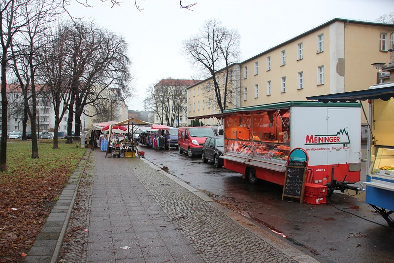 Stände Markt Koppenstraße Friedrichshain