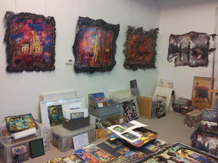 Burn Art Kunst Friedrichshain