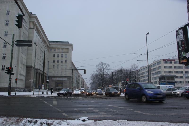 Kreuzung Frankfurter Tor Friedrichshain