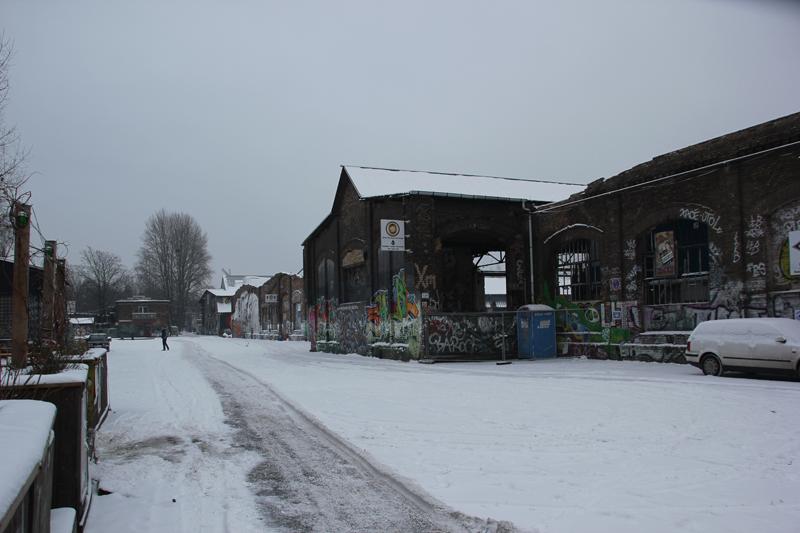 RAW Gelände Winter Friedrichshain
