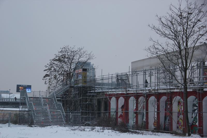 RAW Warschauer Straße Treppe